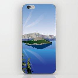 Crater Lake National Park iPhone Skin