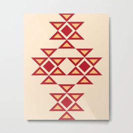 Kanatitsa - Symbol of Eternity, Peace, Protection, Prosperity |  Eastern European Ornaments Metal Print