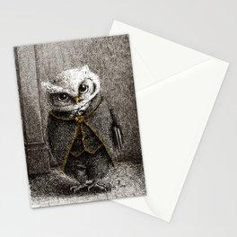 Unlike Father Like Owl Stationery Cards