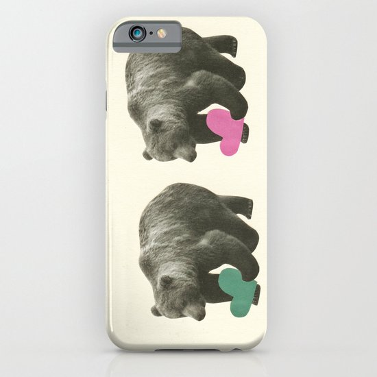 A Bear Romance iPhone & iPod Case