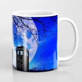 Tardis Night Coffee Mug