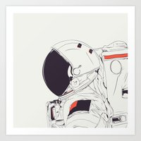 band Art Prints featuring GOD IS AN ASTRONAUT by CranioDsgn