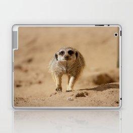 Little cheeky meerkat Laptop & iPad Skin