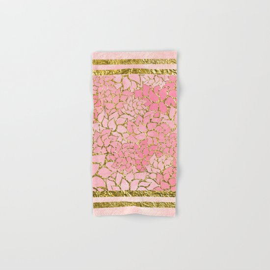 Summer Pattern #10 Hand & Bath Towel