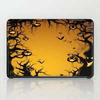scary iPad Cases featuring SCARY HALLOWEEN by Acus