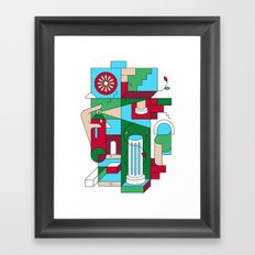 Withering Framed Art Print