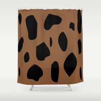 jaguar Shower Curtains featuring Jaguar by PAAC design