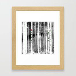 Mirror of nature Framed Art Print