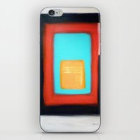 rothko iPhone & iPod Skins featuring Living Rothko by Heaven7