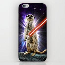 Meerkat iPhone Skin