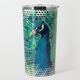 Peacock Style Travel Mug