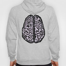 Brain (transparent) Hoody