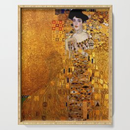 Gustav Klimt portrait painting of Bloch-Bauer Serving Tray