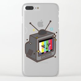 Your First TV Clear iPhone Case