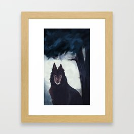 Hound Framed Art Print