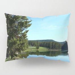 Peaceful Morning At Yellowstone River Pillow Sham