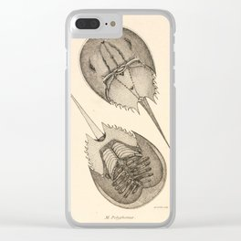 Horseshoe Crabs Clear iPhone Case