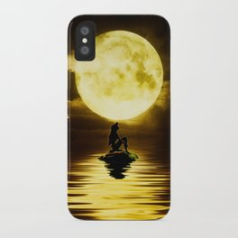 Beauty Mermaid Starry Night iPhone Case
