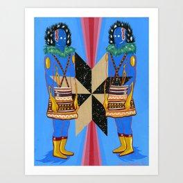 SPACE GODS Art Print