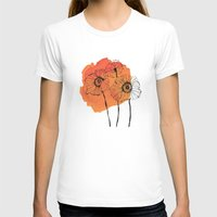 poppies T-shirts featuring poppies by morgan kendall