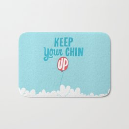 Keep Your Chin Up Bath Mat