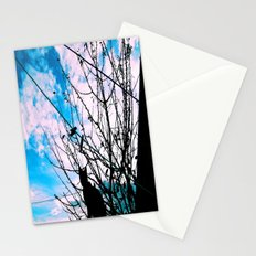 Blue Shadow Crush Stationery Cards