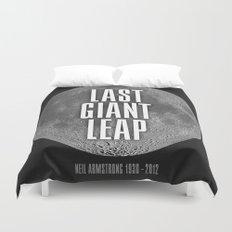 Last Giant Leap Duvet Cover