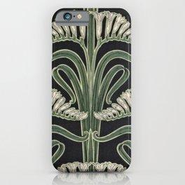 Art Nouveau Botanical iPhone Case