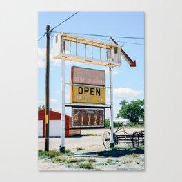 Tatum, New Mexico. Canvas Print