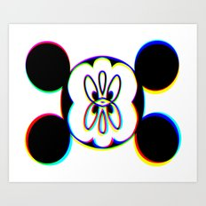 M O U C K E Y M I C E Art Print