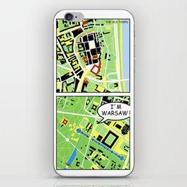 I´m Warsaw iPhone Skin