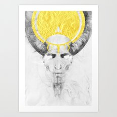 The Lamb Art Print