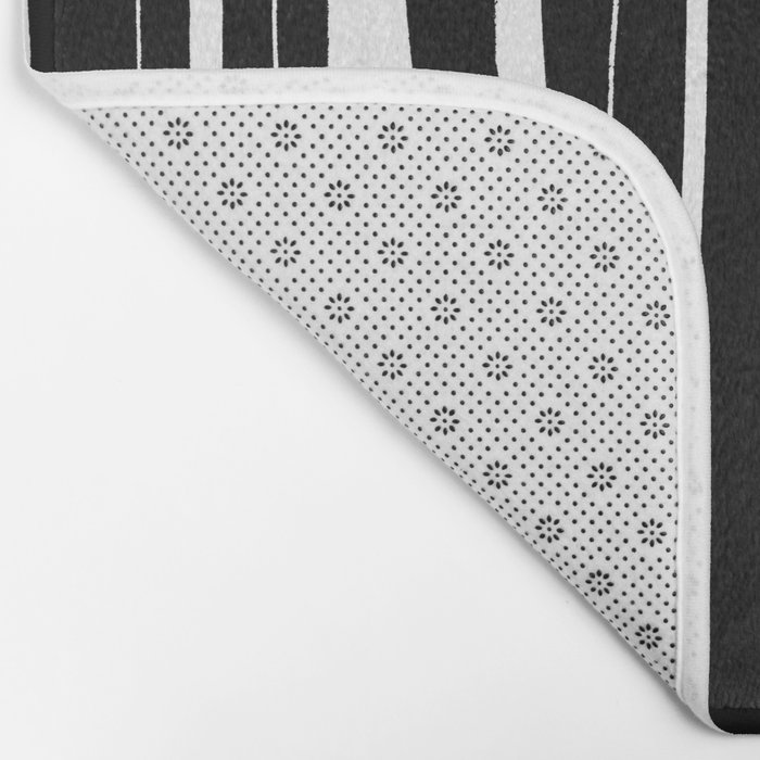 Vertical Living Bath Mat