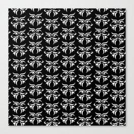 tribal dark - pattern Canvas Print