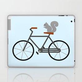 Squirrel Riding Bike Laptop & iPad Skin