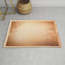 lily floral cloth abstract Rug