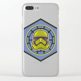 First Order TMNT Stormtrooper - Donatello Clear iPhone Case