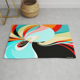 "Abstract 21022020 ""Sunbathing"" Rug"