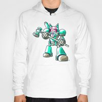 starcraft Hoodies featuring Mech.Cat HAMMER by FoxBoy