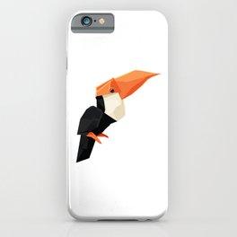 Origami Toucan iPhone Case