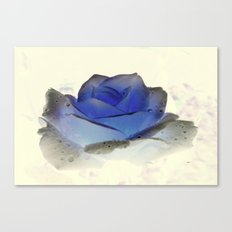 something blue... Canvas Print