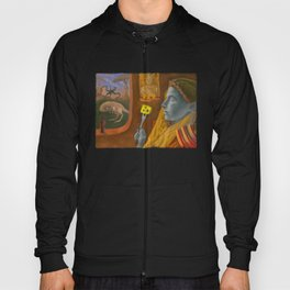 Dream caused by the flight of a cliff racer around a guar a second before awakening Hoody