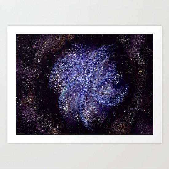 Pinwheel Galaxy Art Print
