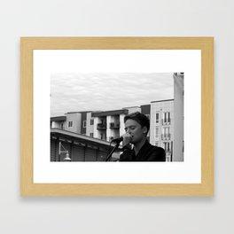 Conor Maynard Framed Art Print