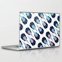 arya Laptop & iPad Skins featuring Graphic Pattern - Geometric, Spacey, Angled by Hinal Arya