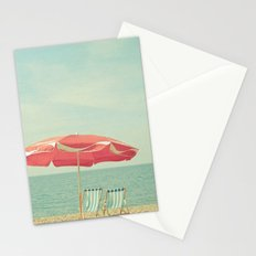Deserted Beach Stationery Cards