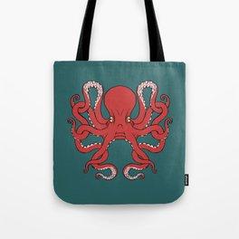 Octopus Knot in Deep Sea Tote Bag
