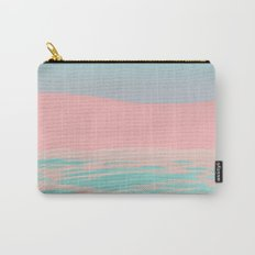 Pink Beach Carry-All Pouch