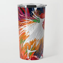 Fighting Cock Travel Mug