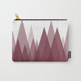 Rusty Mountains - Abstract Landscape Carry-All Pouch